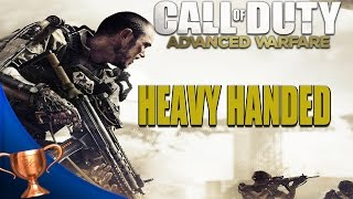 Call of Duty Advanced Warfare - Heavy Handed Trophy/ Achievement Guide