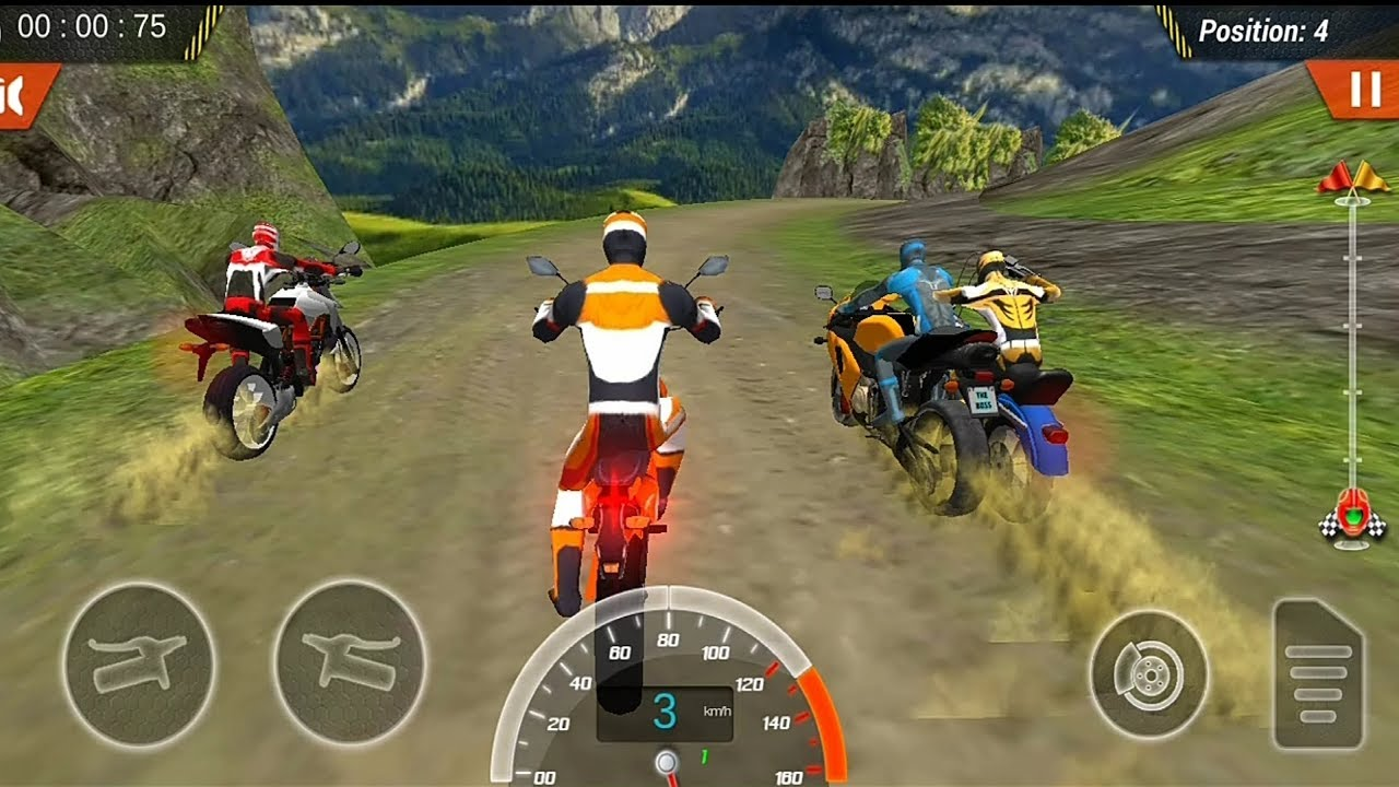 bike game racing games race motorcycle 3d dirt android offroad