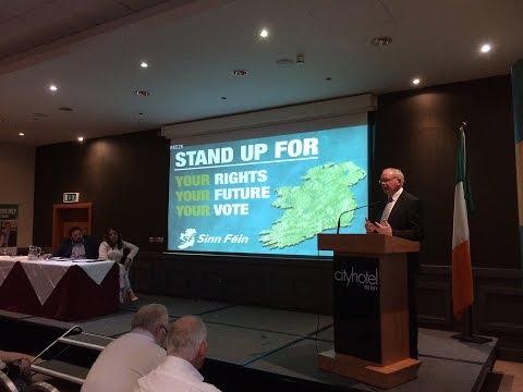 Mobilise against Tory Brexit plans - McGuinness