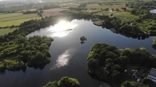 Рыбалка в Англии С высоты птичьего полета