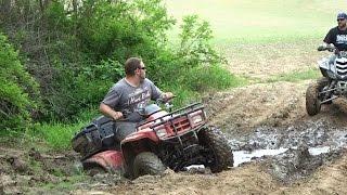 How To Bury An ATV!