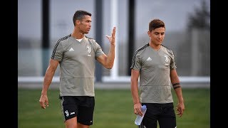 The first week of Juventus training for Bianconeri internationals