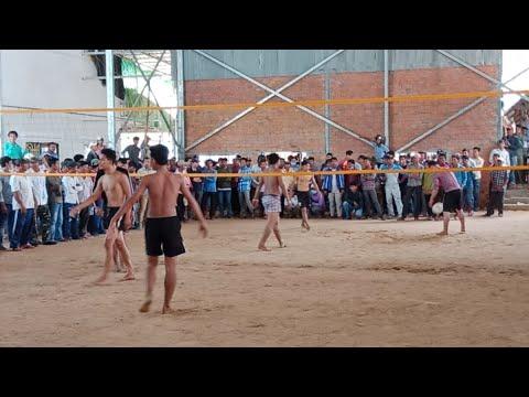 The Cambodia Volleyball Match  3 vs 4 សងសឹក On 19 May 2018
