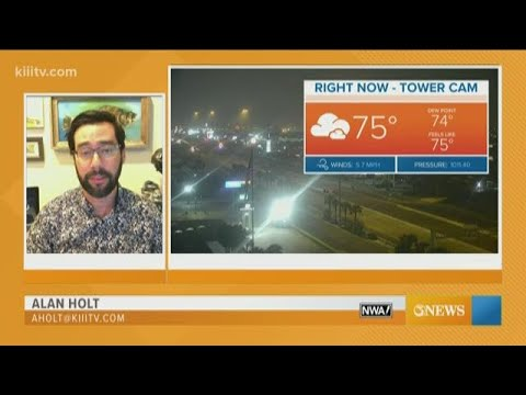 Alan Holt KIII South Texas Weather Forecast 04-08-2020
