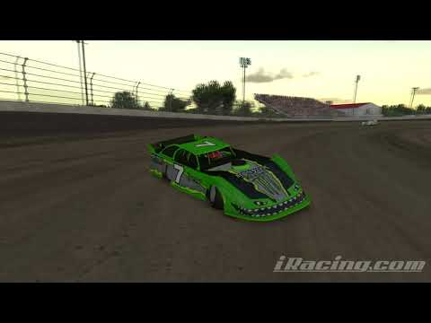 ◤iRacing◢ DIRTCar Late Model Race2: Kokomo Speedway