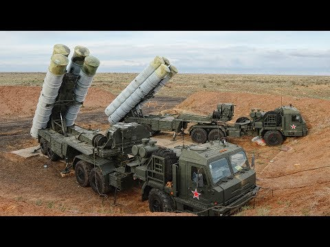 Russian anti-aircraft missile system S-400 in action!