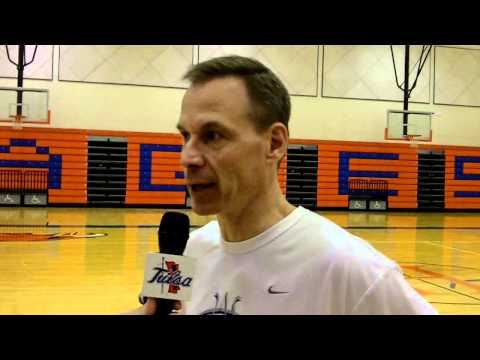 Doug Wojcik post Tuesday practice in El Paso