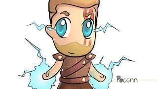 How to draw Cute Thor (Thor Ragnarok)
