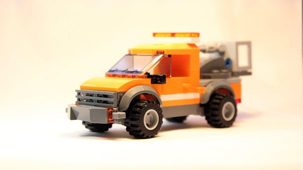 Lego City 60054 Light Repair Truck - Simple MOC Modification