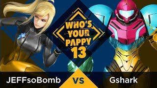Who 39 s Your Pappy 13 Pool B1 JEFFsoBomb ZSS vs Gshark Samus