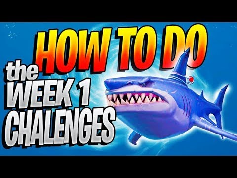 How To Do The Season 3 WEEK 1 Challenges (Week 1 Challenge Guide For ALL Challenges)