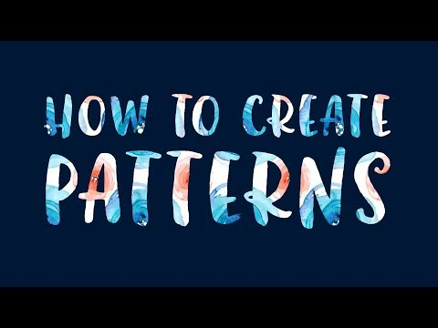 How To Create Patterns In Adobe Photoshop