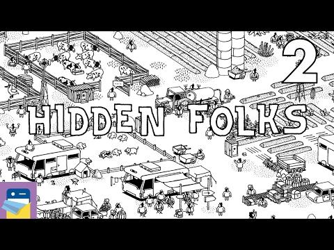 Hidden Folks: iOS iPad Air 2 Gameplay Walkthrough Part 2 (by Adriaan de Jongh)