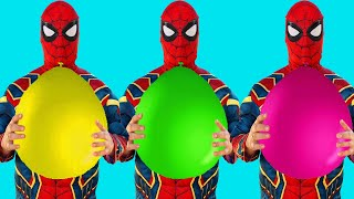 Spider-Man VS Balloons