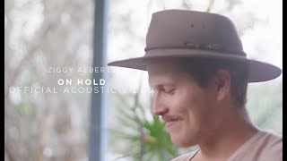 Ziggy Alberts performs an acoustic version of his track 'On Hold', ...