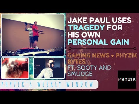 JAKE PAUL is a COMPLETE SCUMBAG Who Uses TRAGEDY to Make Himself LOOK GOOD | Weekly Window