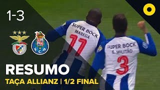 Benfica 1-3 FC Porto - Resumo   SPORT TV