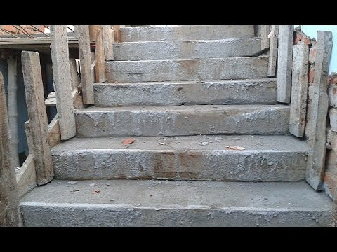 how to build a set of stone steps