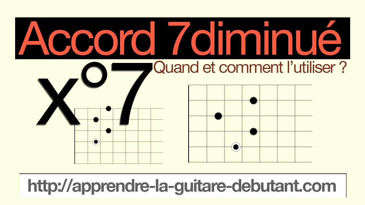 Etape 24 Laccord 7 Diminué Ou Laccord Du Suspens
