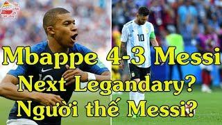 Mbappe vs Messi | Mbappe vs Argentina | Mbappe next Henry | World Cup 2018 | Ẩm thực & Cuộc sống