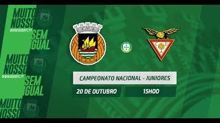 Juniores Sub 19: Antevisão do Rio Ave FC vs CD Aves