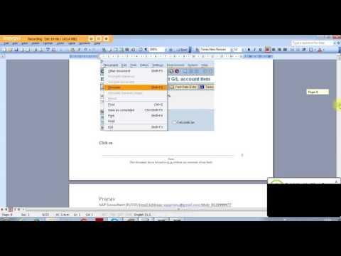 SAP FICO LIVE PROJECT Vendor Down Payment