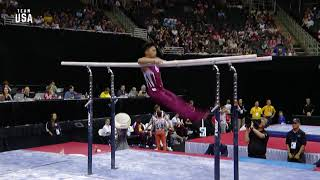 Yul Moldauer On Parallell Bars   Champions Series Presented By Xfinity