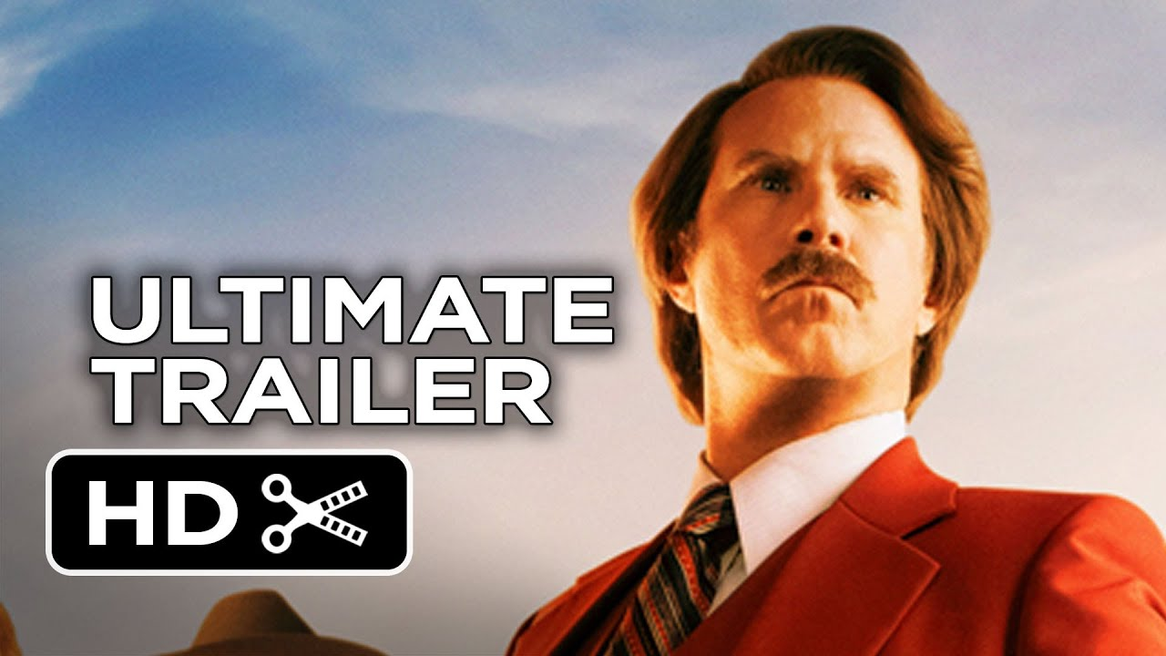Anchorman 2 The Legend Continues Ultimate Trailer 2013 Will Ferrell Movie Hd Youtube
