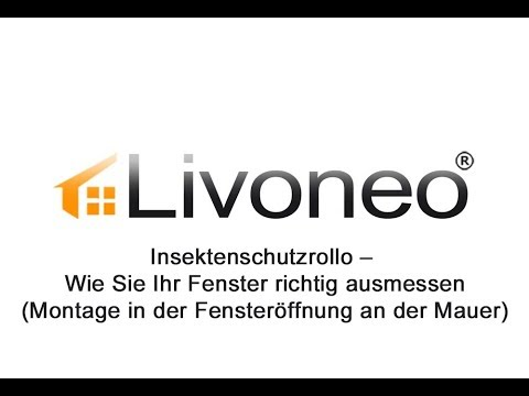 insektenschutzrollo messen die richtigen ma e am fenster ermitteln youtube. Black Bedroom Furniture Sets. Home Design Ideas