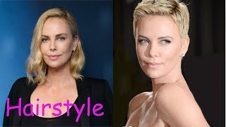 Charlize theron hairstyle (2018)