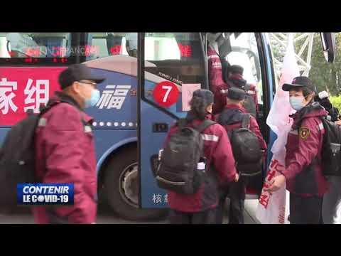 Un troisième groupe de médecins chinois part en Italie