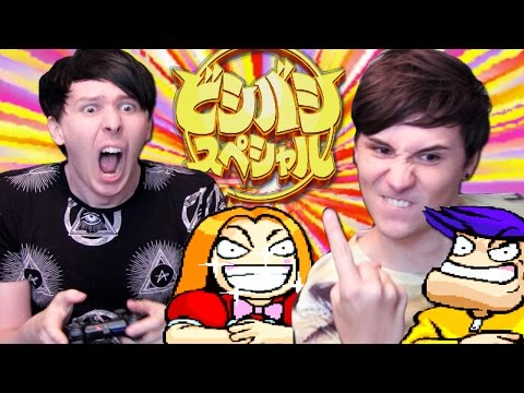 CRAZY JAPANESE GAME - Dan and Phil Play: Bishi Bashi Special