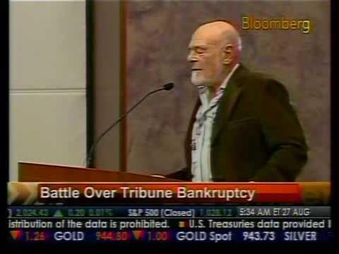 Battle Over Tribune Bankruptcy - Bloomberg