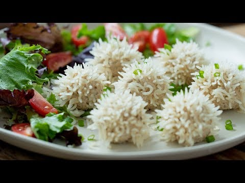 Chicken Rice Ball Recipe