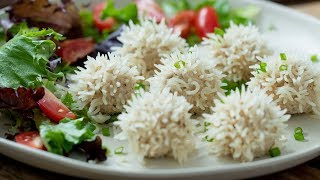 Chicken Rice Ball Recipe