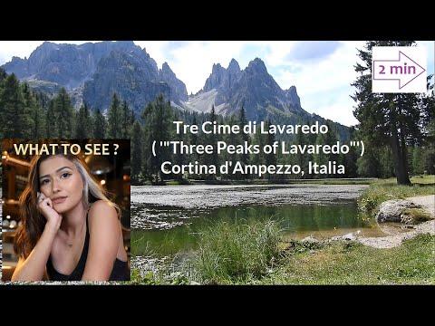 WHAT TO SEE near the Tre Cime di Lavaredo, Italia, (2 min in Europe Collection)