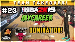NBA 2K19 My Career Ep 23 - Dominating Game vs Bulls! Near 50 Point Triple Double! 22 Assists!