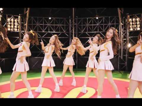 Girls' Generation (少女時代) - Oh! Jap. Version Instrumental With Background Vocals & Lyrics