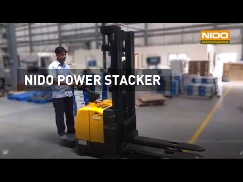 Nido Power Stacker | Stacker Material Handling Equipment