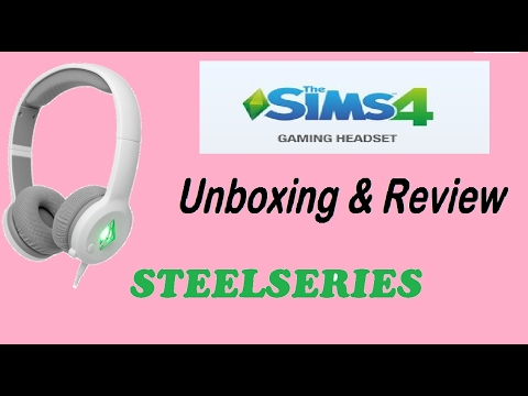 Steelseries The Sims 4 Gaming Headphones Unboxing And Review