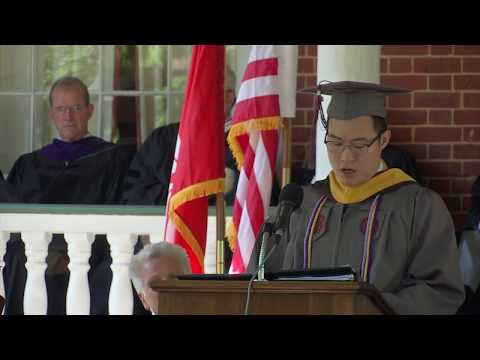 Hampden-Sydney College Commencement 2017