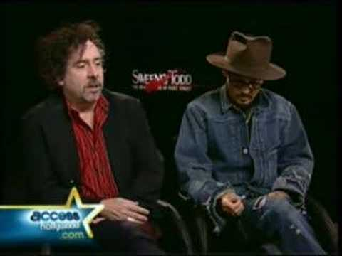 Funny interview with Johnny Depp and Tim Burton