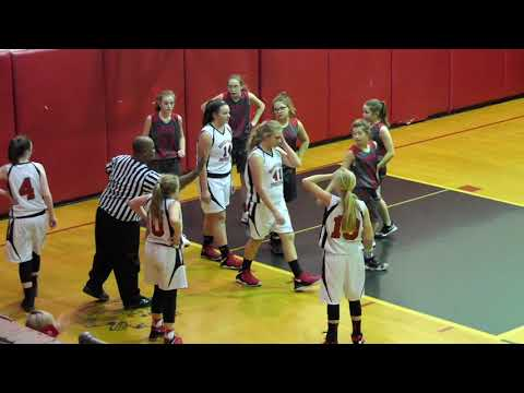 Last girls varsity game ever played at boones Creek middle school 1/11/19
