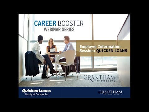 Career Booster Employer Information Session: Quicken Loans