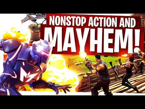 Non-stop Action and Mayhem! - Fortnite Duo Destruction