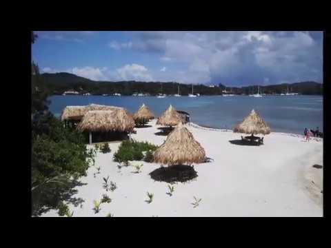 mix del mejor reggaeton, con fotos de la mejor isla roatan honduras