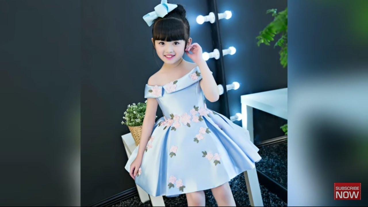 4f18179d22bf Stylish Kids Partywear Dress Designs 2018