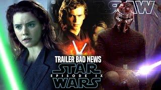Star Wars Episode 9 Trailer Bad News Revealed & More! (Star Wars News)