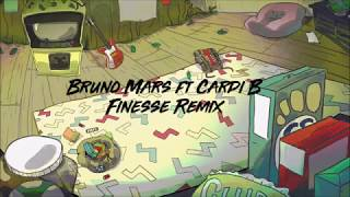 Bruno Mars (feat. Cardi B) - Finesse (Remix) Lyrics