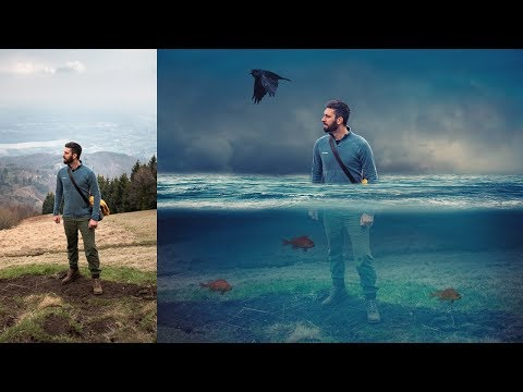 Change into Fantasy In Photoshop Tutorial